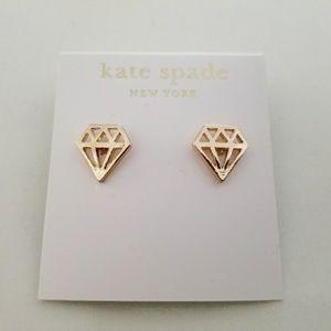 Kate Spade Kiss A Prince  Stud Earrings
